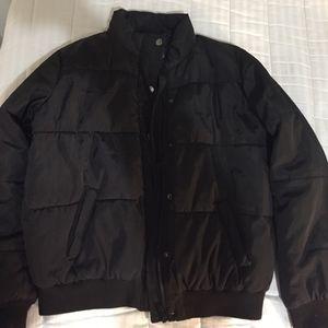 Forever 21 Black Puffer Jacket